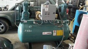 7.5hp. [2]  Air Compressor w/cooler and dryer ,  FS Curtis Masterline in Palatine, Illinois