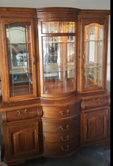China hutch in Fort Leavenworth, Kansas