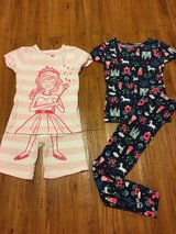5T girls pajamas in Okinawa, Japan