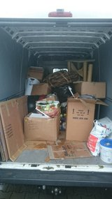 INSTANT JUNK REMOVAL PICK UP AND DELIVERY SERVICES in Ramstein, Germany