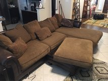 Ashley furniture chase sectional couch in San Antonio, Texas