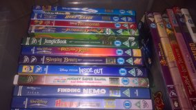 disney dvds 2for £5 5 pictures take a look in Lakenheath, UK