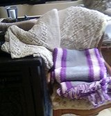 Hand Crocheted Afghan & Spread in Ruidoso, New Mexico