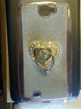 SAMSUNG GALAXY NOTE 4 PROTECTIVE COVER W/RING HOLDER in Naperville, Illinois