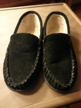 LIKE NEW BLACK SLIPPERS in Bartlett, Illinois