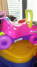 pink toddler riding toy in Macon, Georgia