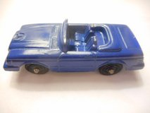 Tootsietoys Mercedes Benz 450 SL Blue Convertible Diecast Toy Luxury Car Vintage in Temecula, California