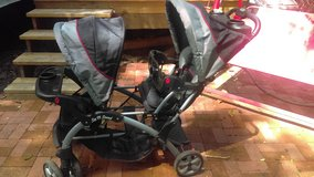 BabyTrend SitNStand Double Stroller in Beaufort, South Carolina