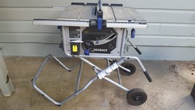 Kobalt Table Saw in Ruidoso, New Mexico