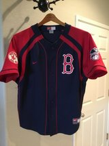 NIKE Buttoned Jersey (BOSTON RED SOX) in Travis AFB, California