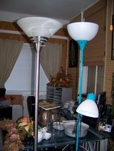 3 Like new Floor Lamps in Belleville, Illinois