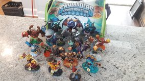 Skylander figures in Moody AFB, Georgia