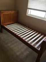 Twin Bed Frame w/ Mattress 4 Sale in Vacaville, California