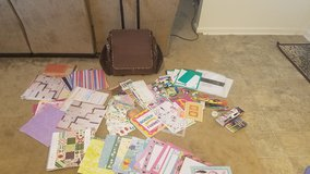 Huge Scrapbook lot with carrying case in Travis AFB, California