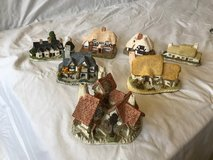 David Winter Cottages, assortment, sold individually or as a set of seven in Las Cruces, New Mexico