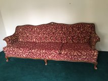 Vintage Provincial Couch and Chair in Schaumburg, Illinois