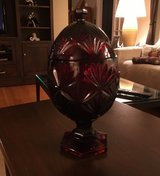 Egg Shaped Covered Candy Dish in Shorewood, Illinois
