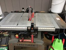 Sears Craftman tablesaw in Lockport, Illinois