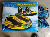 """O'Brien 1 or 2 Person Inflatable Super Screamer 70"""" with Tow Rope in Naperville, Illinois"""