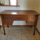 Antique Store Desk Solid Wood in Okinawa, Japan