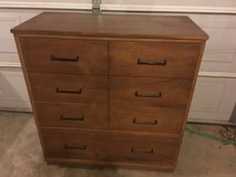 Solid oak dresser and chest in Fort Campbell, Kentucky
