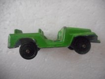 Tootsietoy Green Army Jeep Toy in Temecula, California
