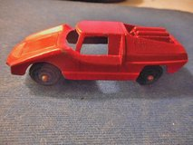 Tootsie Toy Diecast Metal Red Fiat Abarth #2 Vintage in Temecula, California