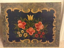 Antique flower painting in Fort Irwin, California