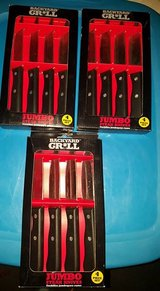 Brand New 3 packs Back Yard Grill Jumbo Steak Knifes in Fort Campbell, Kentucky