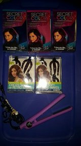 New Secret Color Hair,( Pink, Purple, Blue ) Softwaves X2, Hair Iron in Fort Campbell, Kentucky