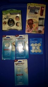 New, ( as seen on tv Furniture Feet, Gripper Pads, Poster Hangers, Digital photo key chain in Clarksville, Tennessee