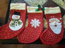 NEW CHRISTMAS STOCKINGS in Elgin, Illinois