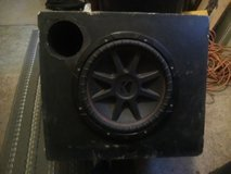 Birch wood 12 inch ported box in Orland Park, Illinois