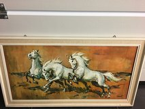 Horse painting in Ramstein, Germany