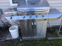 Stainless steel grill in St. Louis, Missouri