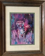 Framed LeRoy Neiman Print in Las Cruces, New Mexico