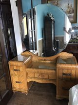 Art Deco vintage vanity dresser in Wheaton, Illinois