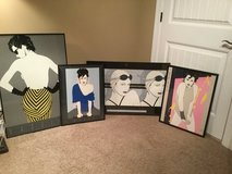 Patrick Nagel Framed Prints -(Pelham, AL) in Birmingham, Alabama