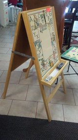 """40""""x21"""" child's easel- two sided in Warner Robins, Georgia"""