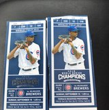 2 Cubs Tickets vs Milwaukee Brewers Sept 10th in Wheaton, Illinois