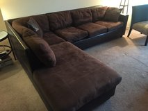 Modern Brown Sectional in Camp Pendleton, California
