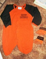 Harley Davidson Outfit with Matching Booties in Alamogordo, New Mexico