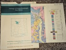 Geologic map of Gilman, New Mexico. in Alamogordo, New Mexico