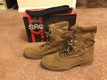 Thorogood Saw Military Boots: Size 12 in Cary, North Carolina