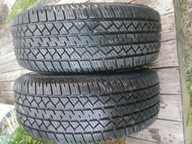 Set of 2 custom vogue tires in Fort Campbell, Kentucky