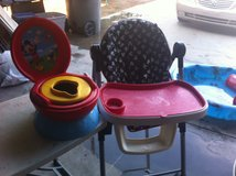 Baby High Chair and Potty Chair $45 or best offer. in 29 Palms, California