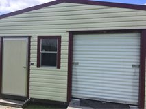 metal shed  10 by 16  w/ roll up door in Camp Lejeune, North Carolina