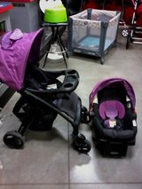 graco stroller and car seat set w/base REDUCED PRICE $65 in Ottumwa, Iowa