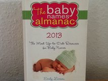 2013 Baby Name Book in Ramstein, Germany