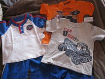 New 3T Boys Clothes 5 Items ( 3 Shirts, pants and shorts ) in Ramstein, Germany